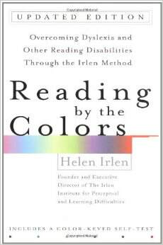 reading by the colours - Irlen Syndrome - Dyslexia